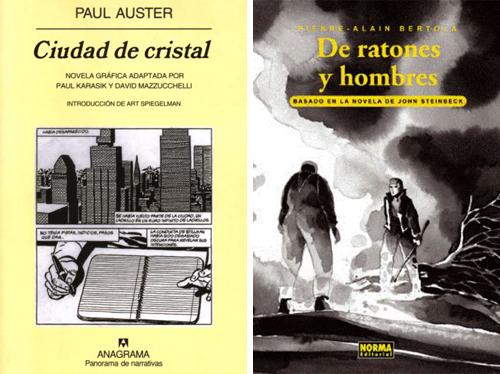 Komic Librería: La ciudad de cristal - De ratones y hombres
