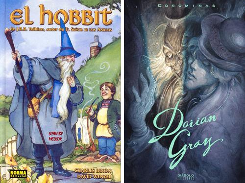 Komic Librería: El Hobbit - Dorian Gray