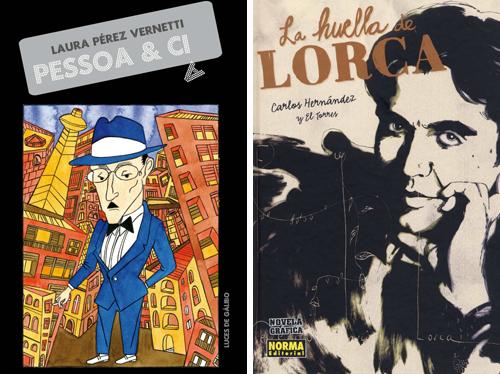 Komic Librería: Pessoa y Cia - La huella de Lorca