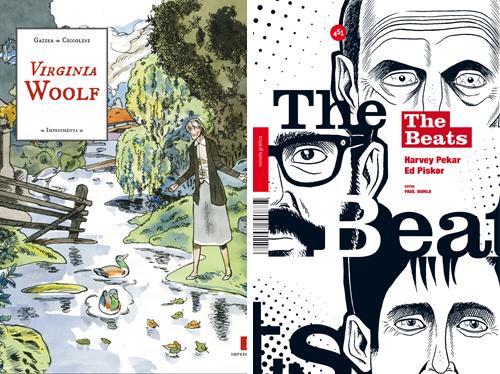Komic Librería: Virginia Woolf - The Beats