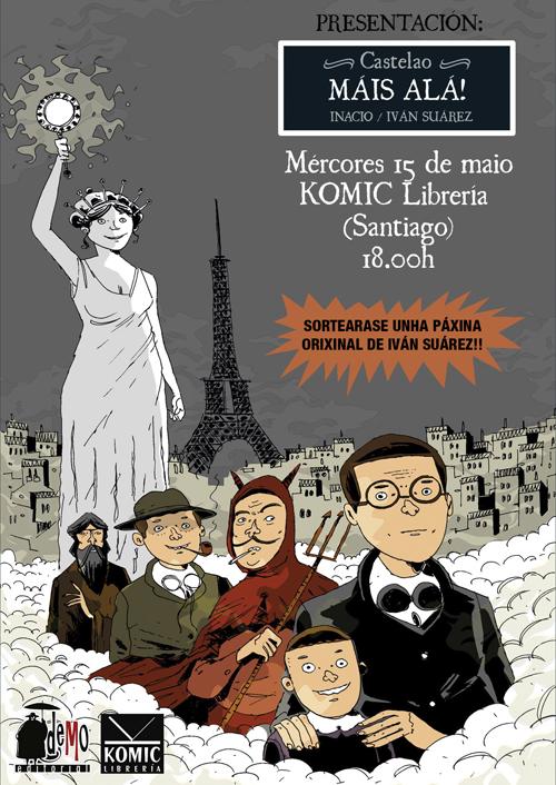 Komic Librería: Presentación de Castelao. Máis alá!