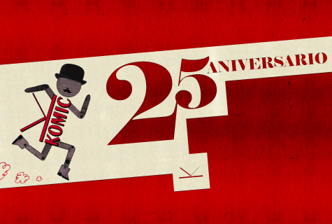 25 Aniversario de Komic Librería