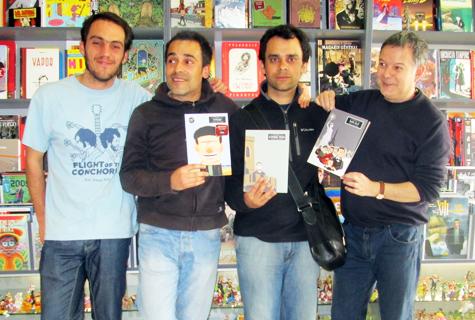 Komic Librería: Presentación de Máis alá!