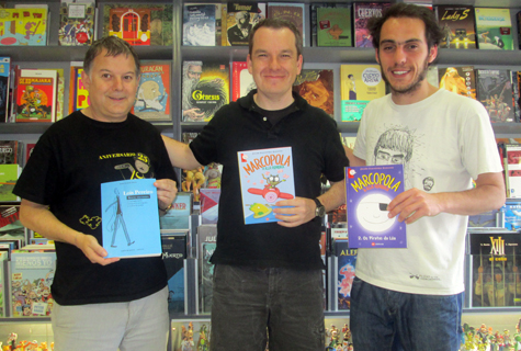 Komic Librería: Presentación de Os piratas da Lúa