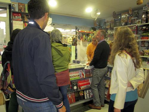 Fran Jaraba presenta Division Azul en Komic Librería
