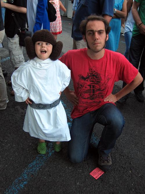 Xaime Lis coa Princesa Leia Mariona