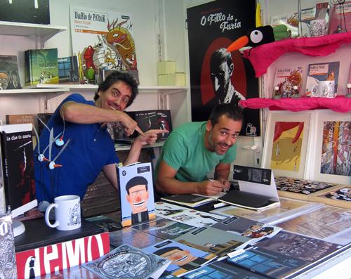Manel Cráneo e Iván Suárez