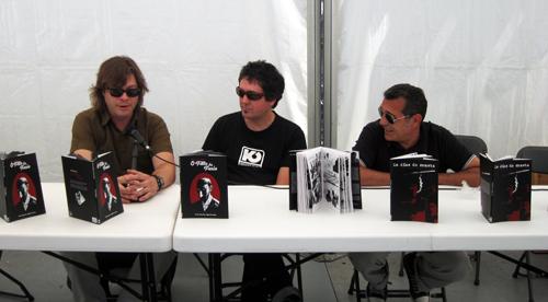 Miguel Fernández, Manel Cráneo e Manolo López Poy