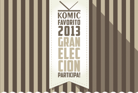 Komic Librería: Gran Elección Komic Favorito 2013