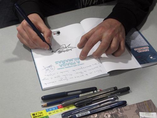 Komic Librería: Presentación de A Fraga Milmañas
