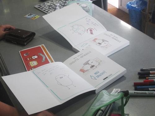 Presentación de Croqueta y Empanadilla en Komic Librería