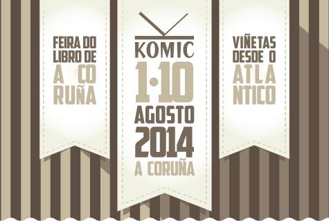 Komic Librería en Viñetas desde o Atlántico e a Feira do Libro de A Coruña