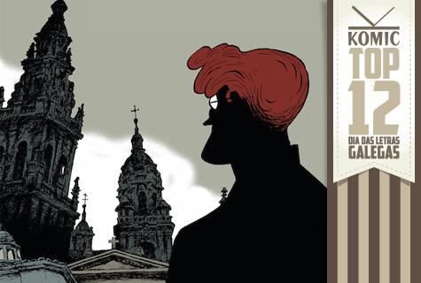 Top 12 de Komic Librería: Día das Letras Galegas 2015