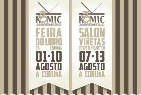 Komic Librería - Agosto 2017: Feira do Libro de A Coruña - Salón Viñetas desde o Atlántico