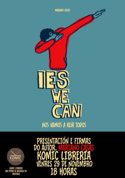 Komic Librería: IES WE CAN