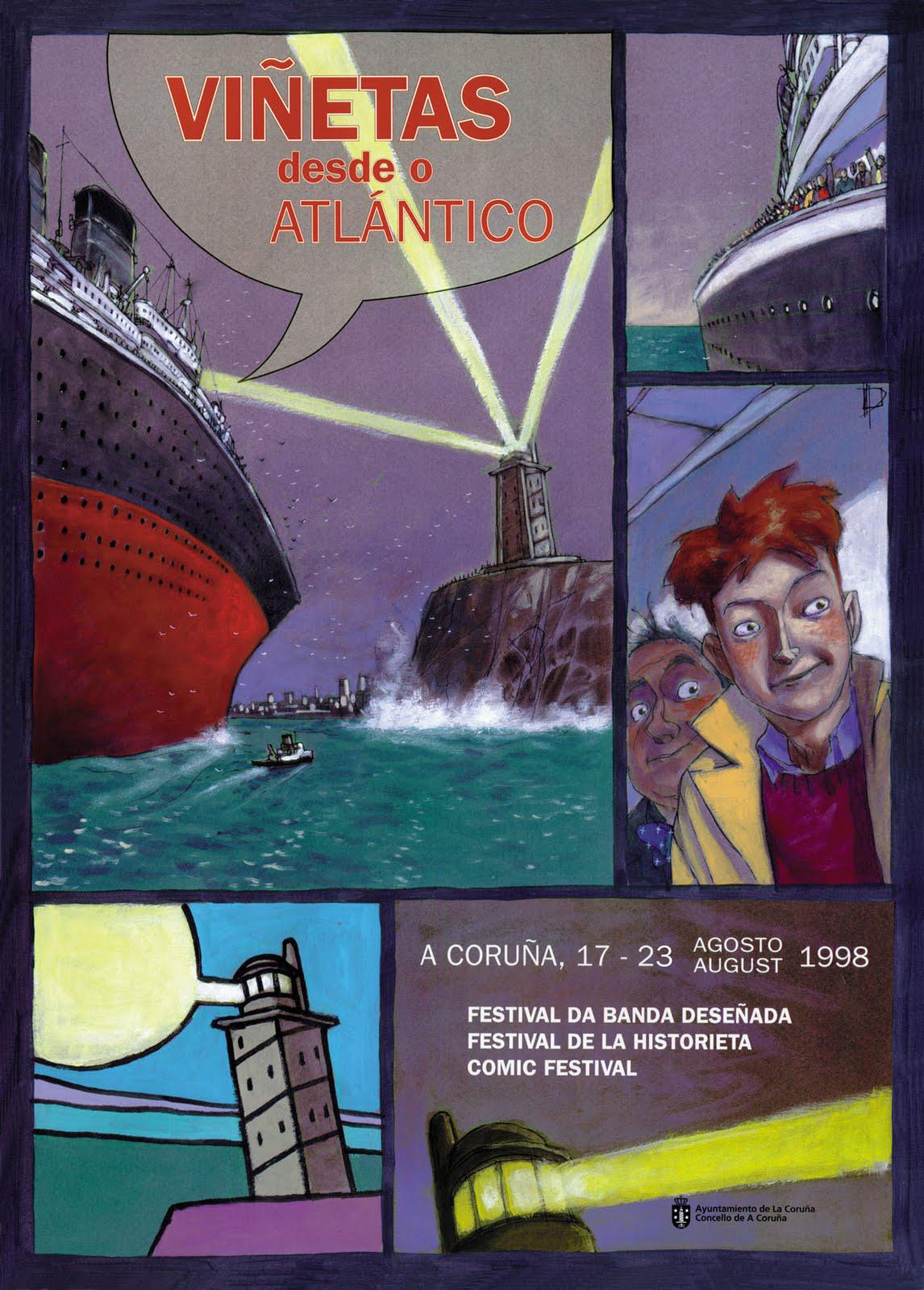 I Edición de Viñetas desde o Atlántico