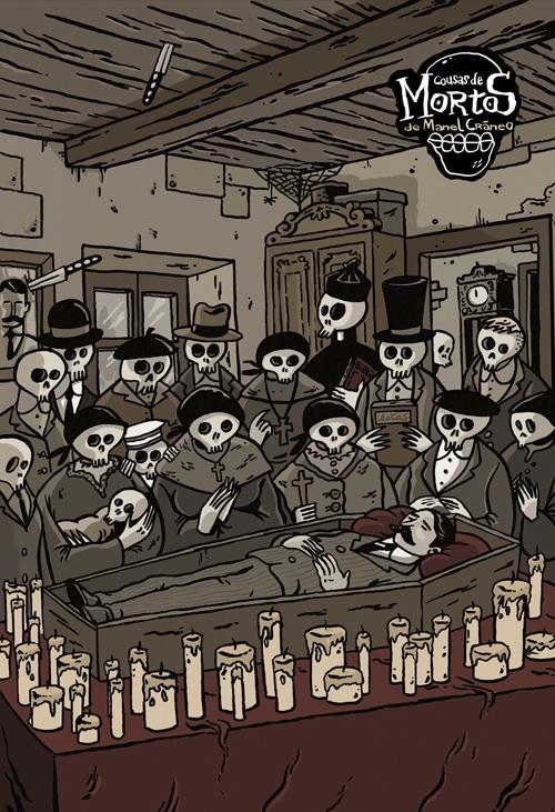 Komic Librería: Cousas de mortos
