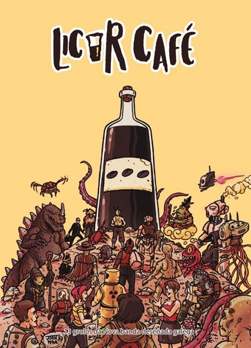 Komic Librería: Licor café