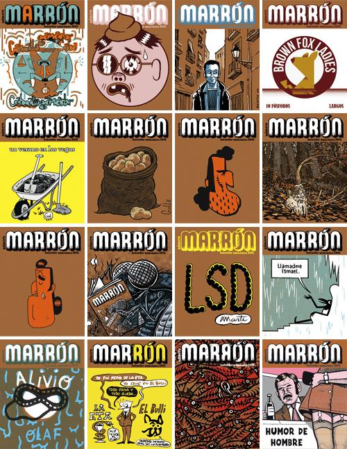 Komic Librería: MARRÓN, de Autsaider Cómics