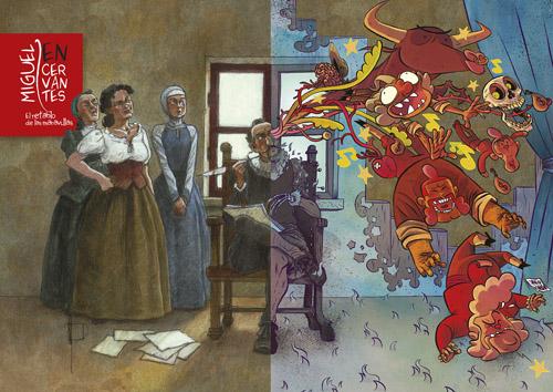 Komic Librería: Miguel EN Cervantes