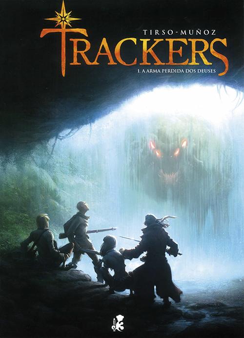 Trackers (El arma perdida de los dioses)
