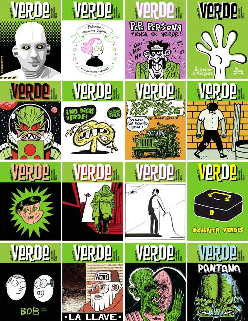 Komic Librería: VERDE, de Autsaider Comics