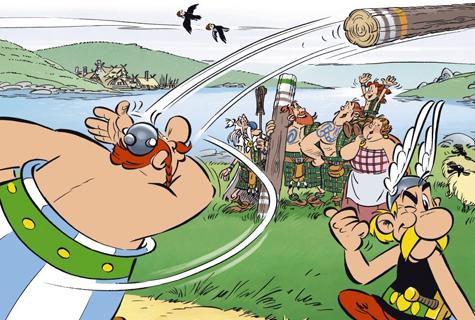 Komic Librería: Astérix y los pictos