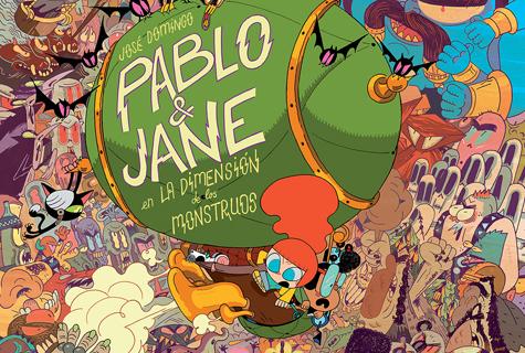 Komic Librería: Pablo y Jane en la dimensión de los monstruos