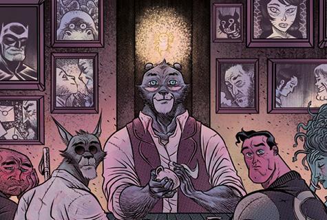 Komic Librería: O salón de té do oso malaio