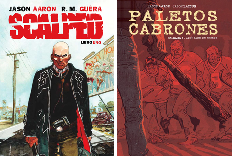 Komic Librería: Scalped integral + Paletos cabrones