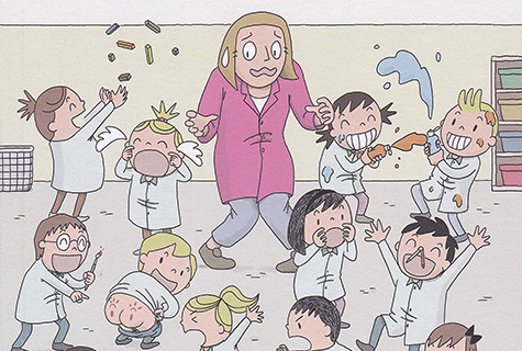 Unha mestra en apuros