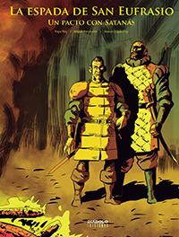 Komic Librería: La espada de San Eufrasio #3. Un pacto con Satanás