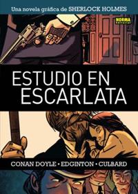 Komic Librería: Sherlock Holmes - Estudio en escarlata