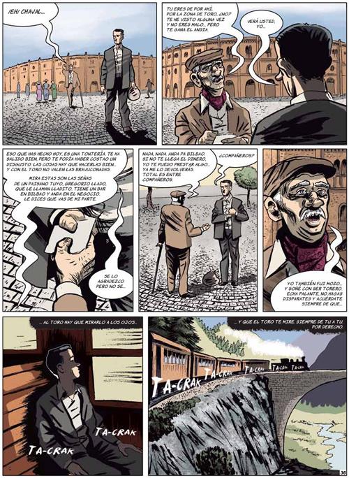 Komic Librería: A las cinco de la tarde
