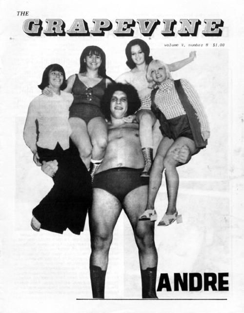 omic Librería: André el Gigante. Vida y leyenda