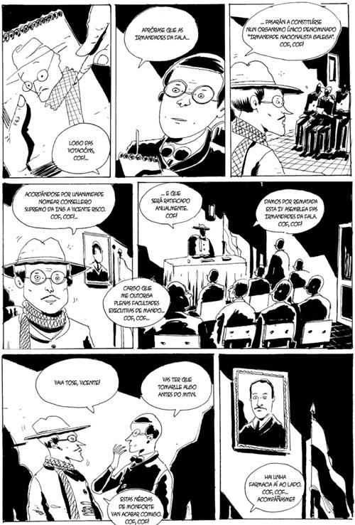 Komic Librería: Castelao. Máis alá!