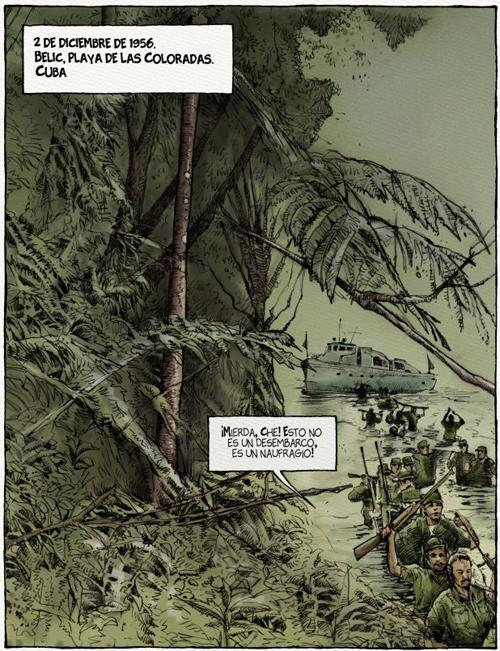 Komic Librería: Che, una vida revolucionaria, los años de Cuba