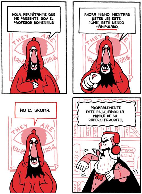 Komic Librería: Conspiraciones