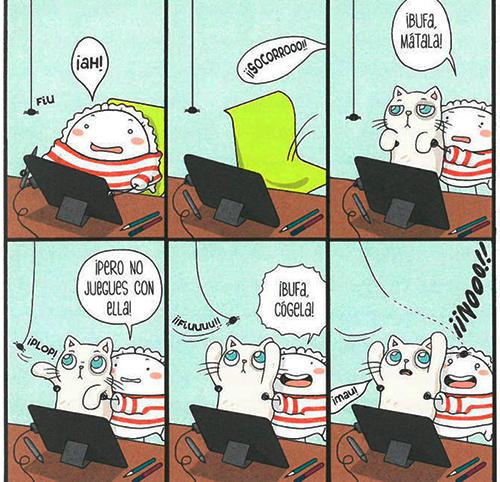 Komic Librería: Croqueta y Empanadilla 3