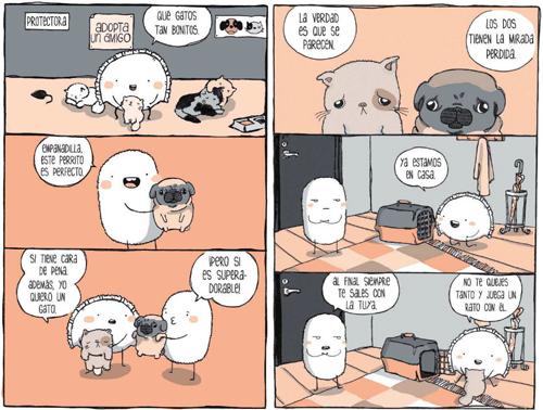 Komic Librería: Croqueta y Empanadilla