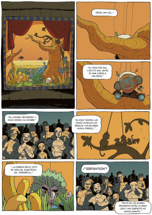 Komic L¡ibrería: El cuentacuentos