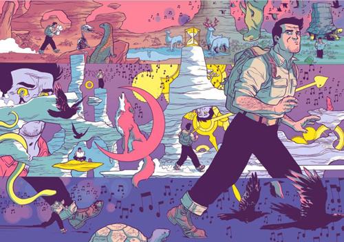 Komic Librería: Cuento de arena