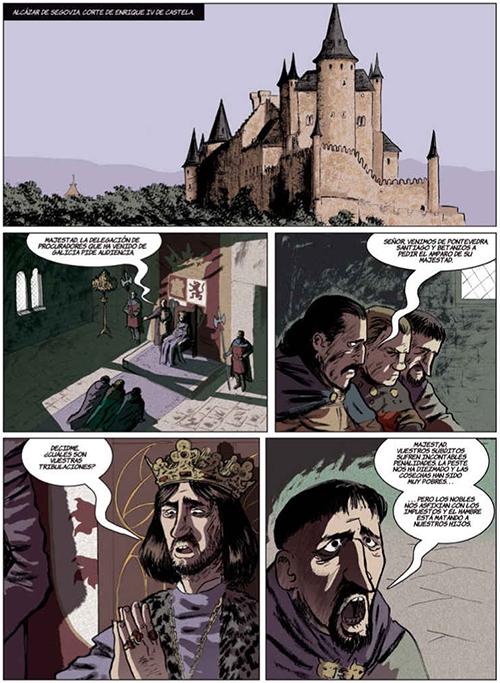 La espada de San Eufrasio #1: la aldea maldita