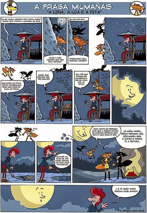 Komic Librería: A Fraga Milmañas