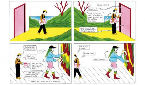 Komic Librería: Fragmentos seleccionados