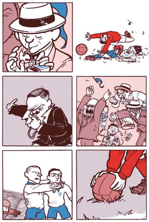 Komic Librería: Futbolín