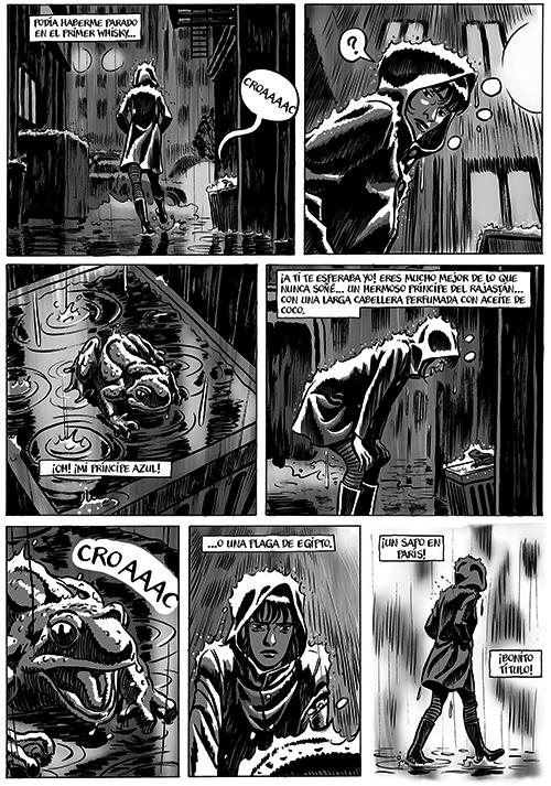 Komic Librería: El hombre garabateado