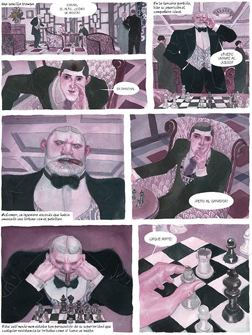 Komic Librería: El jugador de ajedrez