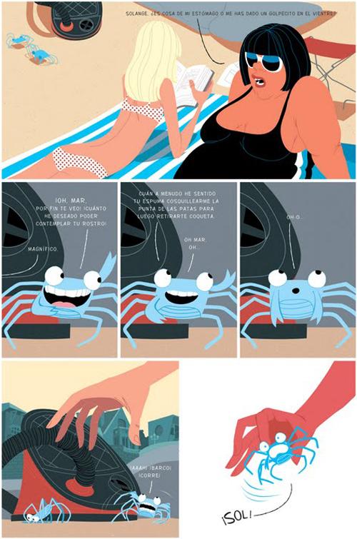 Komic Librería: La marcha del cangrejo