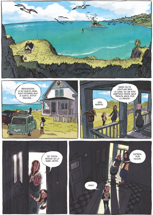 Komic Librería: La memoria del agua